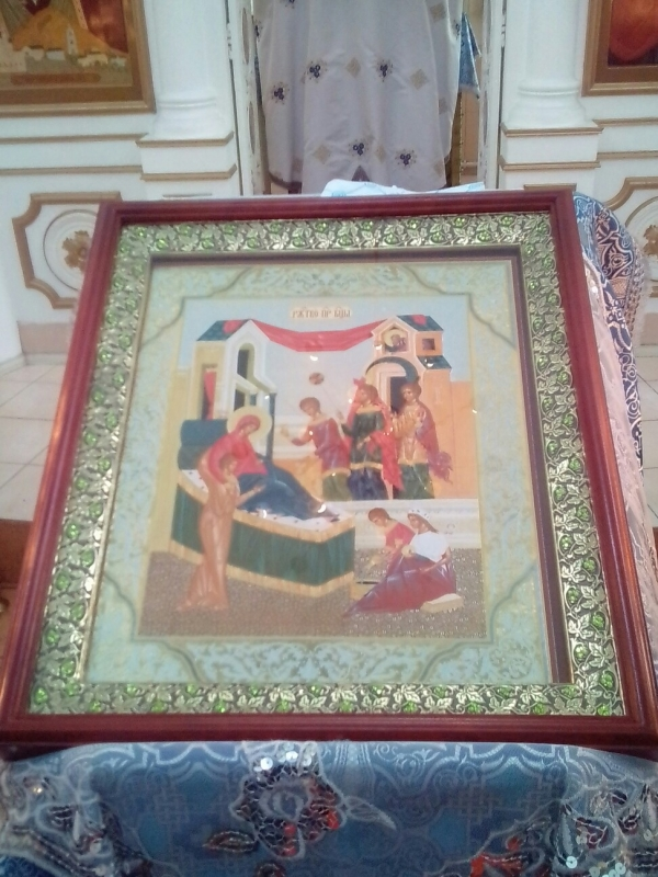 Рождество Богородицы в храме блаженной Ксении Петербуржской